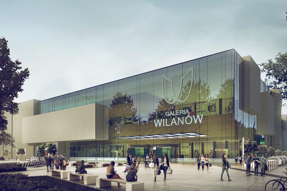 Jest propozycja planu dla Galerii Wilanów