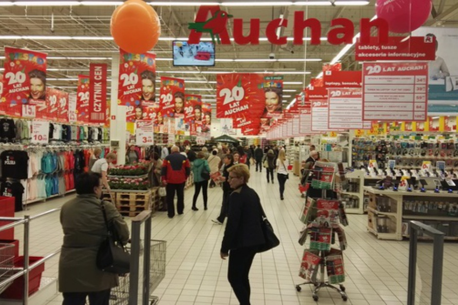 Auchan ma plan ożywienia formatu hipermarketu