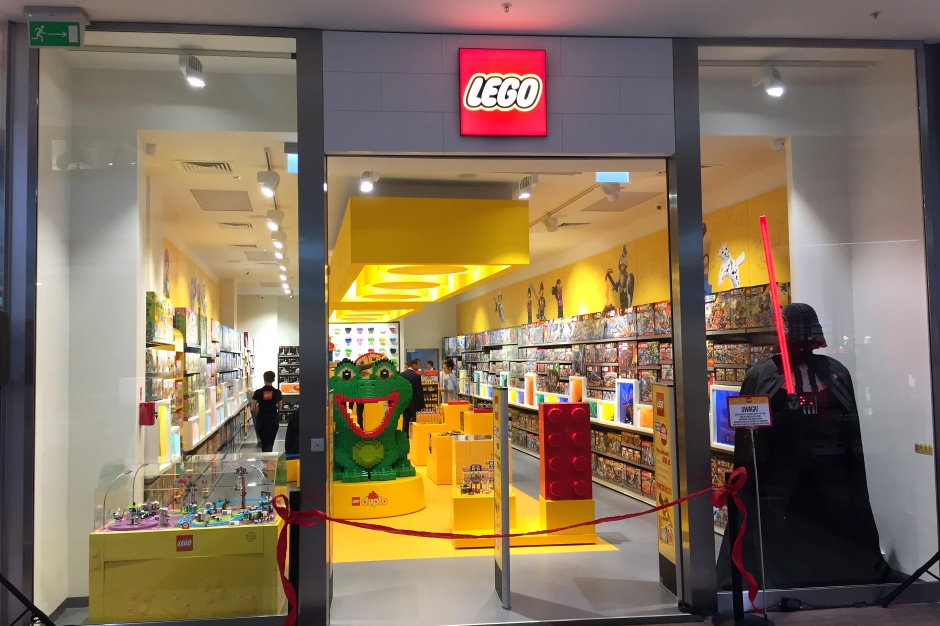 Pierwszy w Polsce Lego Store od środka
