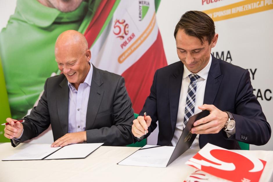 Leroy Merlin oficjalnym sponsorem reprezentacji Polski w piłce nożnej