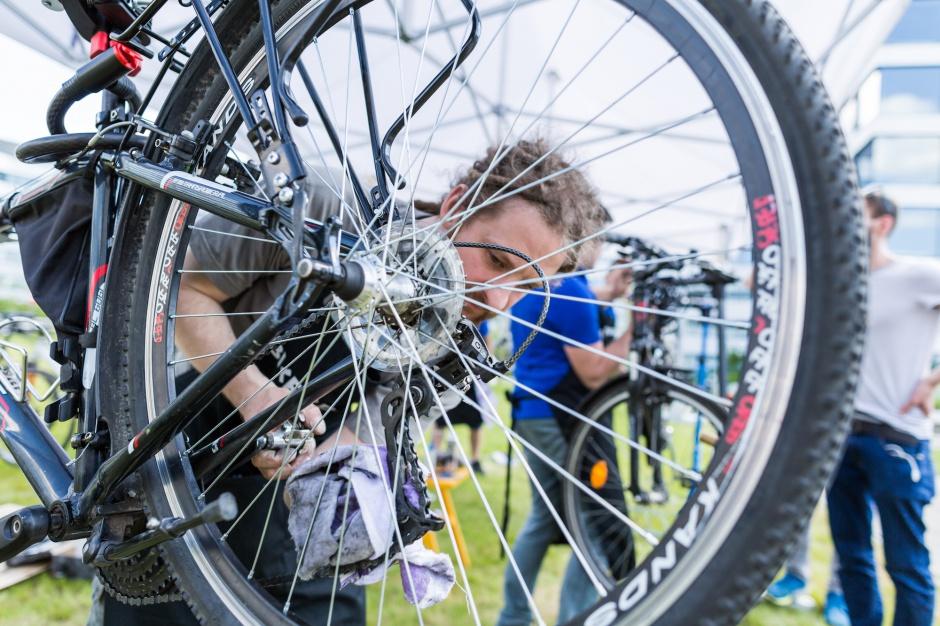 Warszawski biurowiec stanie się mekką dla rowerzystów?