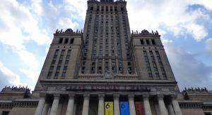 Szklana rewolucja w Pałacu Kultury i Nauki