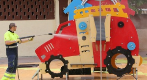 Plac zabaw na terenie galerii handlowej