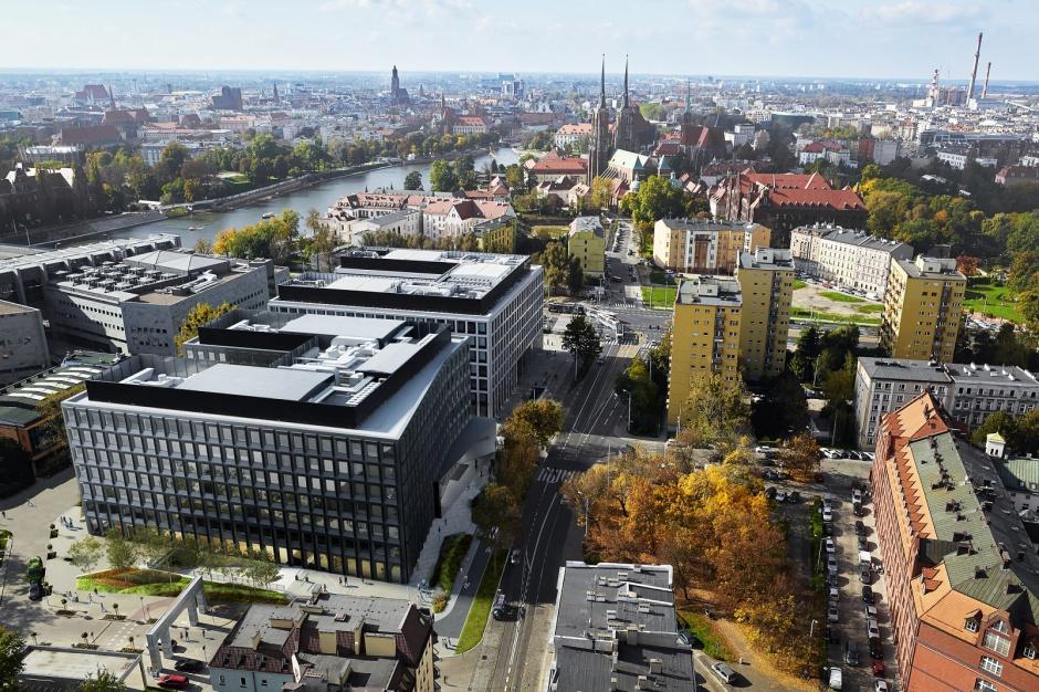 Nowy kompleks biurowy Skanska pisze swoją historię