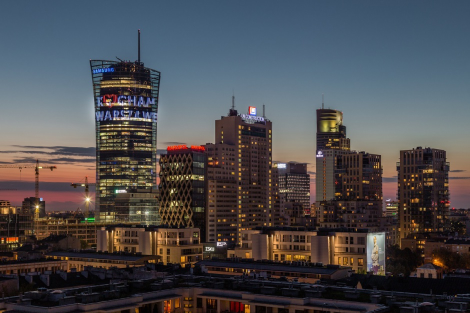 Marriott, Q22, Warsaw Spire, Cosmopolitan i inne wieżowce do zdobycia