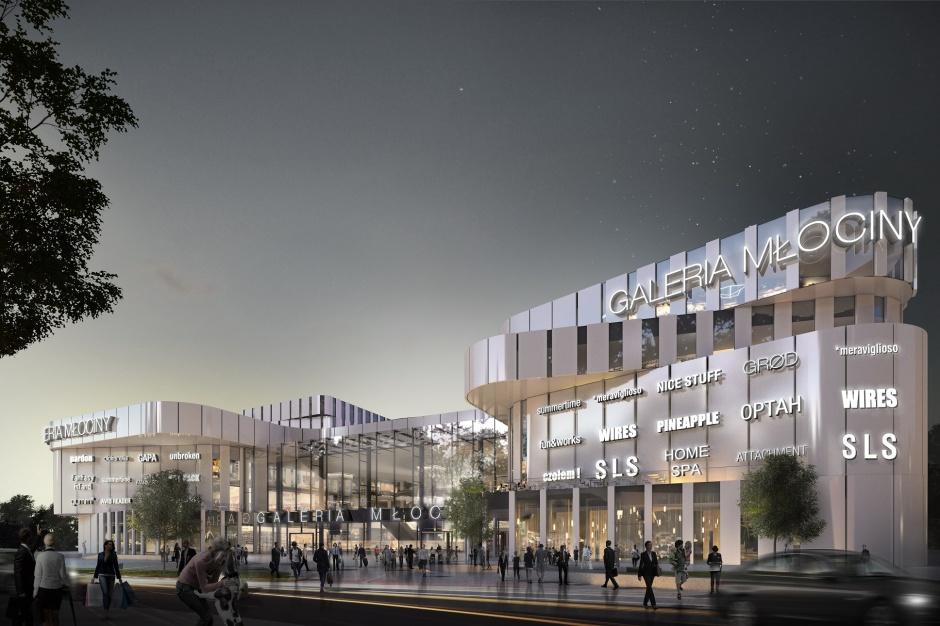 Budowa Galerii Młociny wchodzi w kolejną fazę