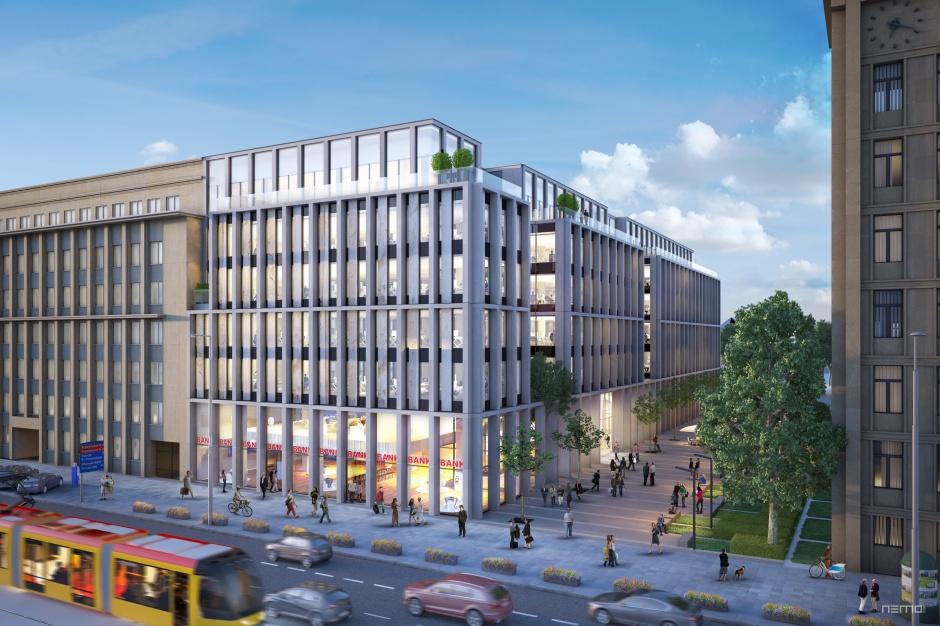 Nowy biurowiec z widokiem na warszawski skyline. Yareal rusza z budową