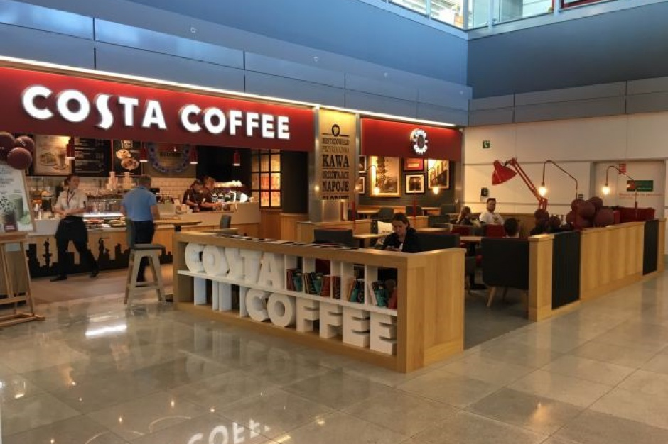 Odlotowa Costa Coffee