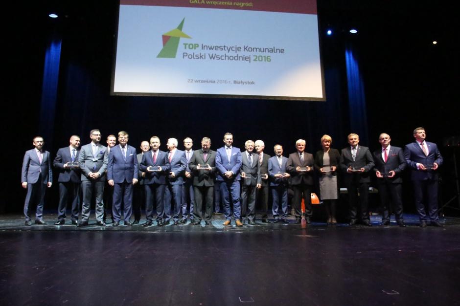 Nagrody Top Inwestycje Komunalne Polski Wschodniej wręczone