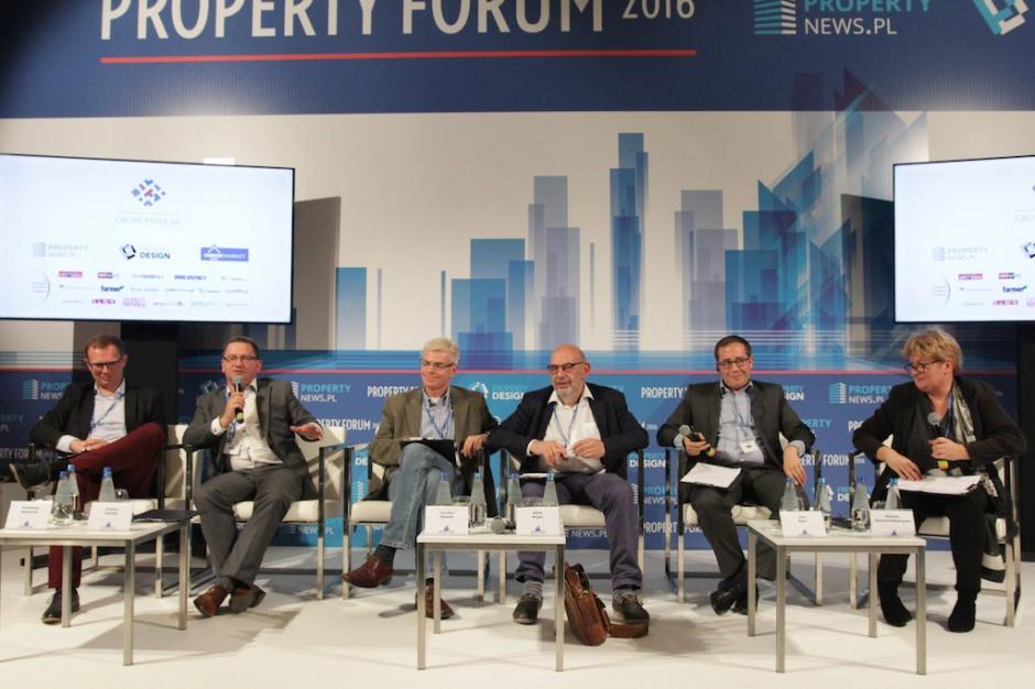 Zdrowy balans, czyli sesja handlowa Property Forum 2016 na fotografiach