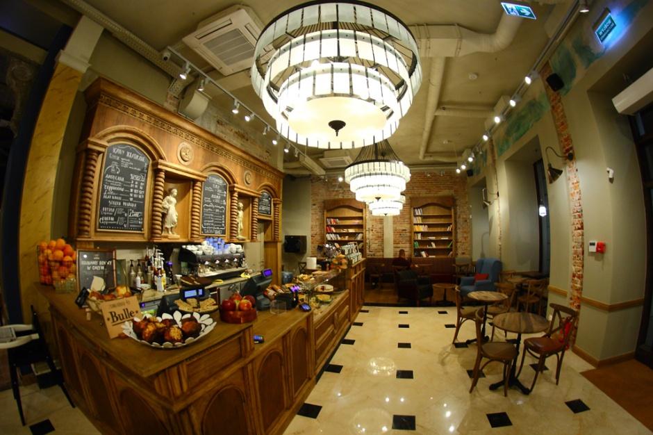 Flagowa kawiarnia Green Caffè Nero w niezwykłym miejscu