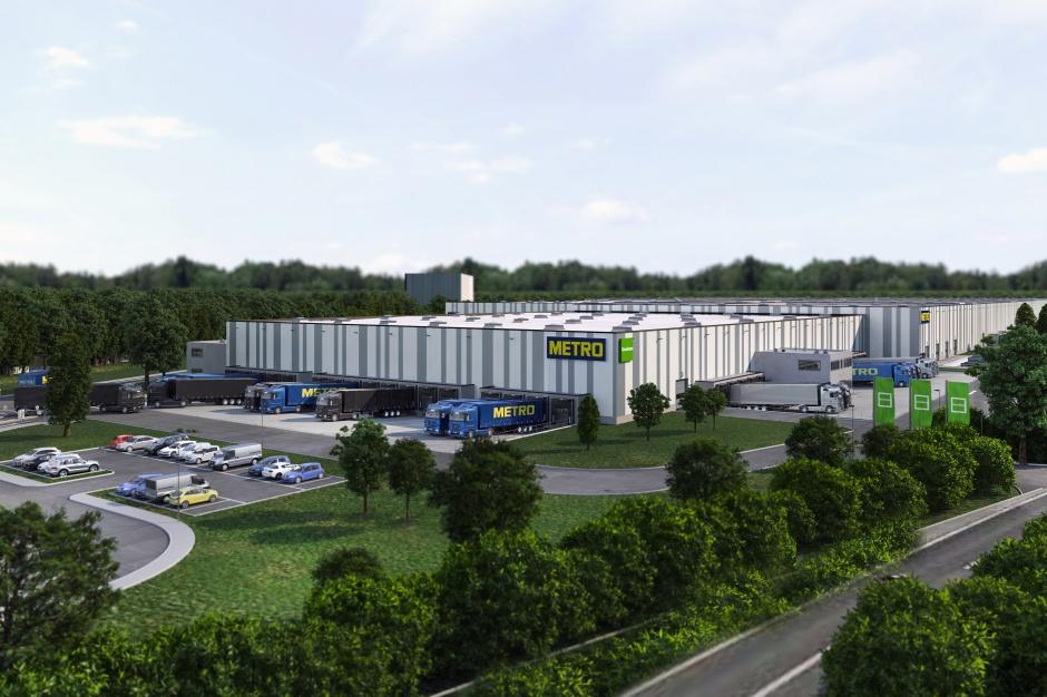 Goodman wybuduje ogromne centrum logistyczne dla globalnej sieci hurtowej