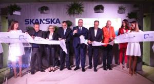Nowy biurowiec Skanska oficjalnie otwarty