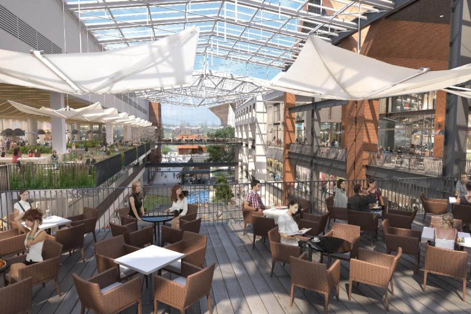 Forum Gdańsk zapełnia strefę restauracyjną
