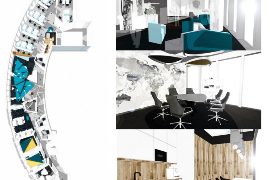 Tetris w Warsaw Spire. Wiemy, jak będzie wyglądało nowe biuro