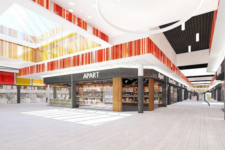 Większe o blisko 25 tys. mkw., bogatsze o 100 sklepów i kino. Kolejne centrum czeka rozbudowa