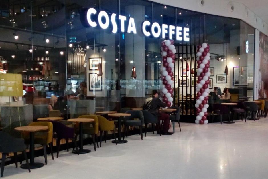 130 kawiarni Costa Coffee. I to nie koniec planów rozwoju