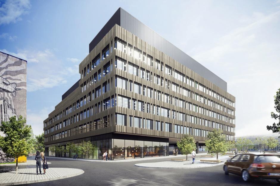 Nowe Centrum Łodzi z pierwszym biurowcem już za kilka miesięcy