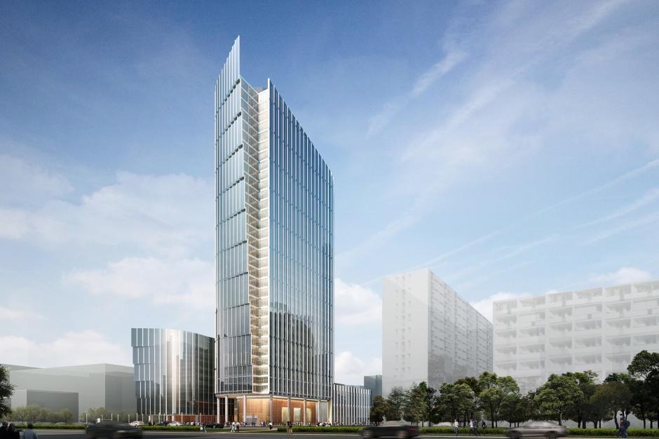 Przed nimi 33 miesiące budowy. Startuje kolejna wieża biurowa w Warszawie