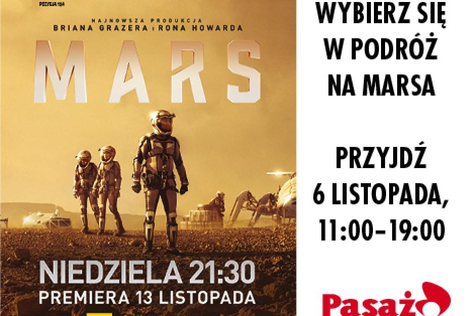 Z Pasażu Łódzkiego... na Marsa