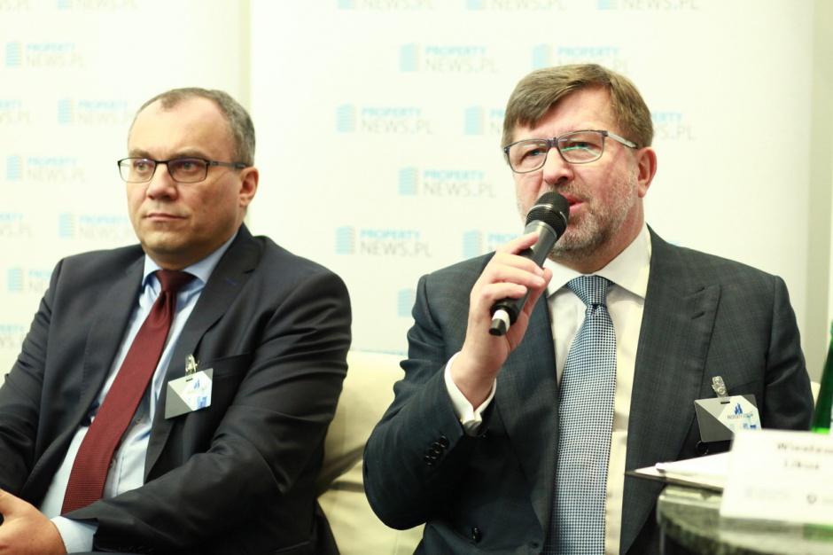 Dariusz Kuś, prezes zarządu, Port Lotniczy Wrocław oraz Wiesław Likus, prezes zarządu, Holding Liwa
