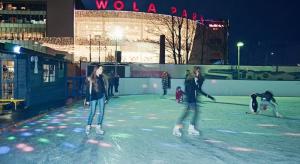 Prawdziwa zima przyjdzie najpierw do Wola Parku