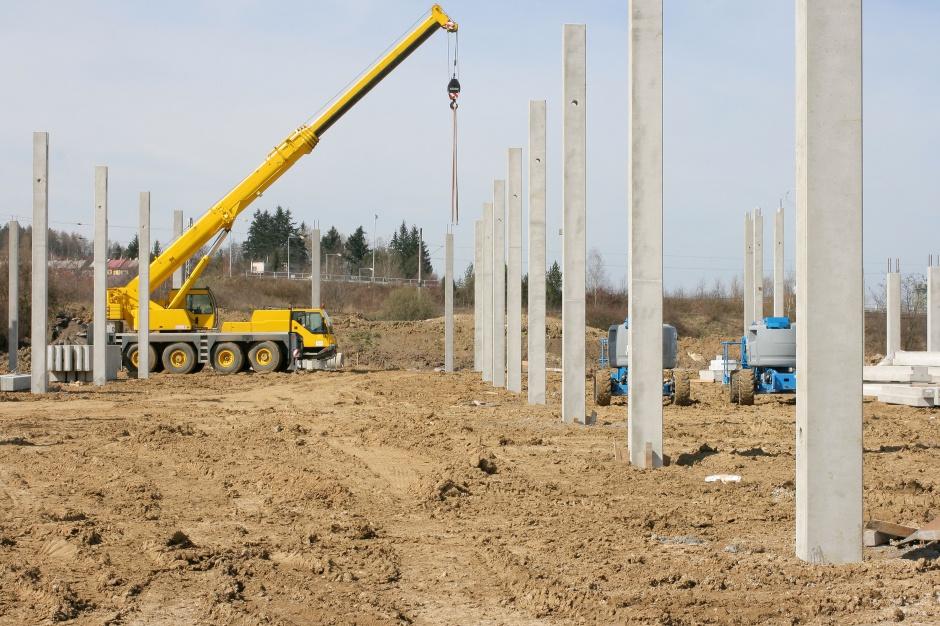 Nowe centrum logistyczno-magazynowe dla Neuca wchodzi w kolejny etap budowy