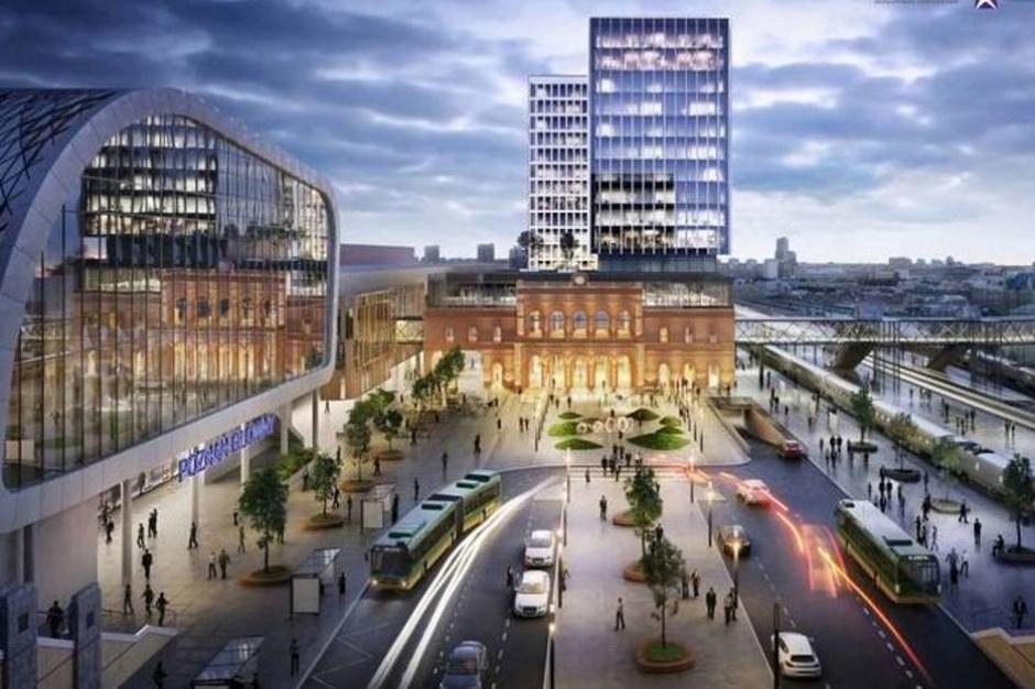 Koncepcja rozbudowy poznańskiego dworca PKP idzie do kosza