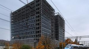 Biurowiec Argon otula się szkłem. To trzeci etap Alchemii w Gdańsku
