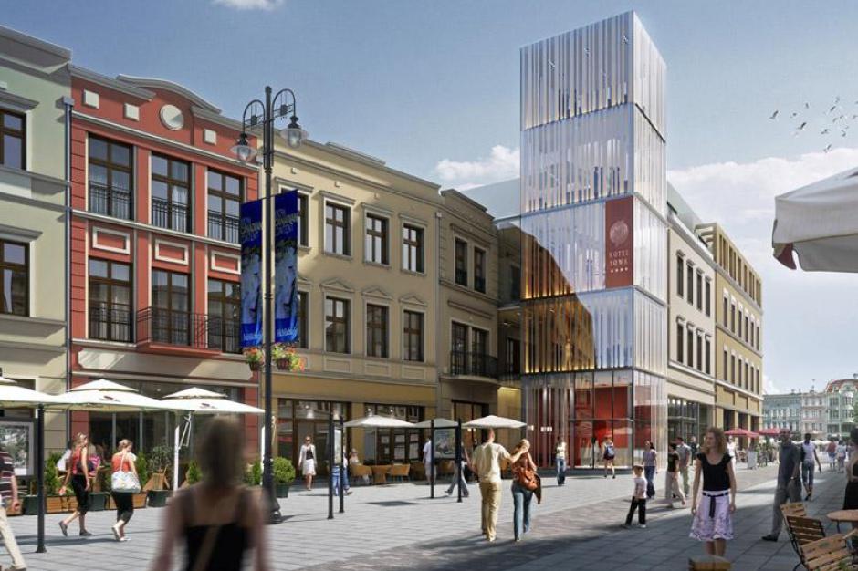 Nowy hotel w Bydgoszczy nabiera kształtów