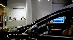 Motoryzacyjny showroom w Starym Browarze