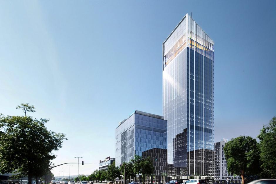 Bank stawia na wieżowiec