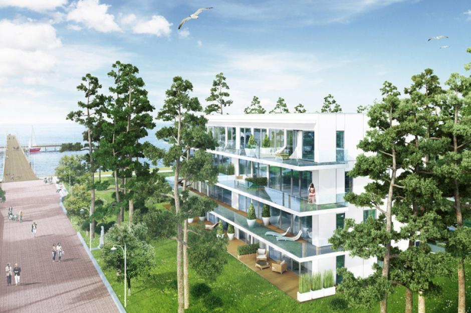 Apartamenty condo pełne luksusu. Potężna inwestycja przy molo w Juracie
