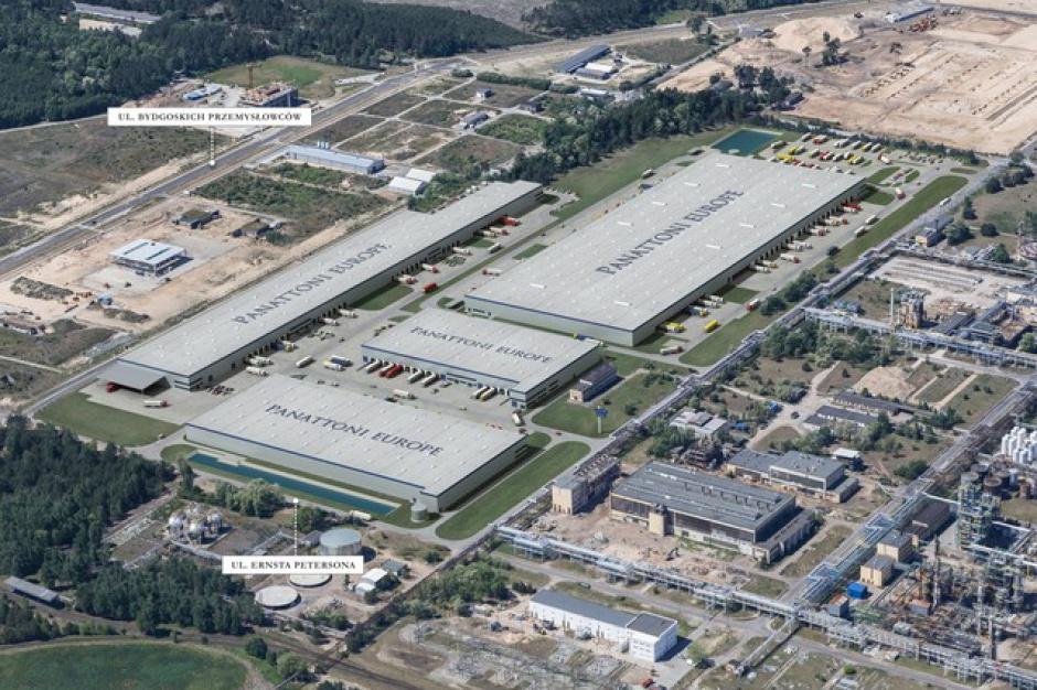 Centrum logistyczne firmy Kaufland prawie gotowe