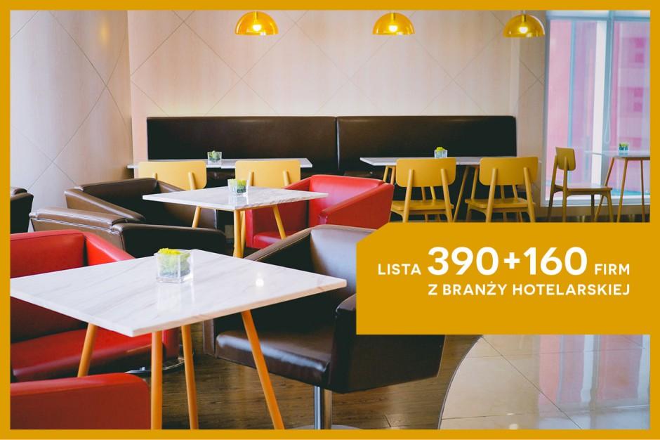 HoReCa w Polsce: lista 390+160 firm z branży hotelarskiej - edycja 2016