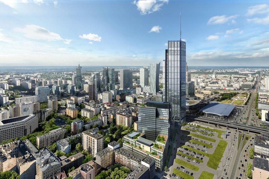 Najwyższy budynek w Polsce na starcie! Znamy szczegóły inwestycji HB Reavis