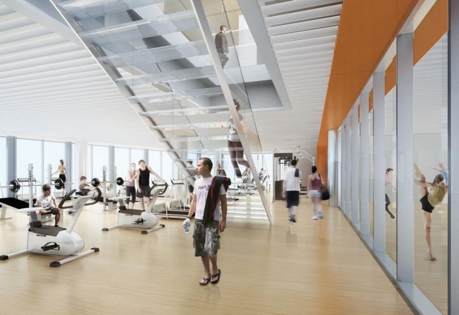 Mennica Legacy Tower centrum fitness