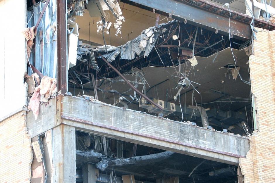 Trwa rozbiórka obok warszawskiej Rotundy. Szykuje się elegancki hotel