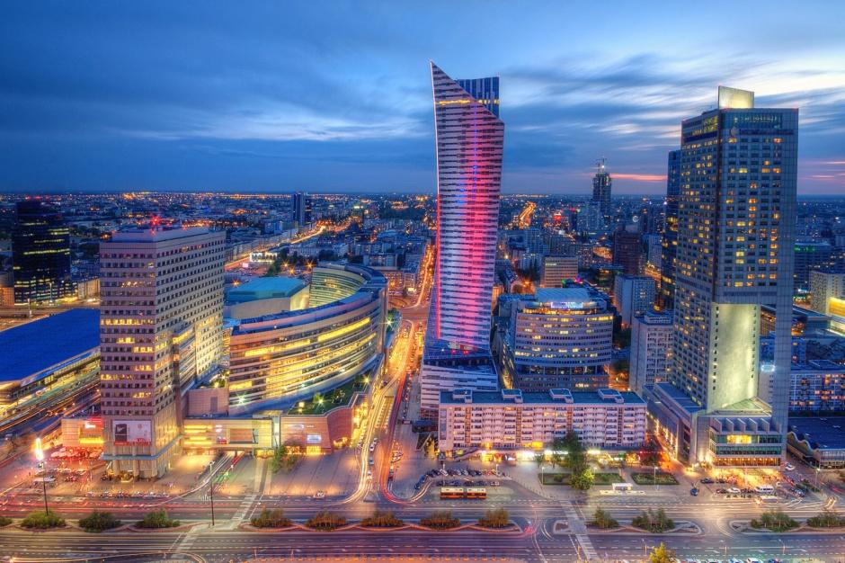 Biurowy rekord w centrum Warszawy