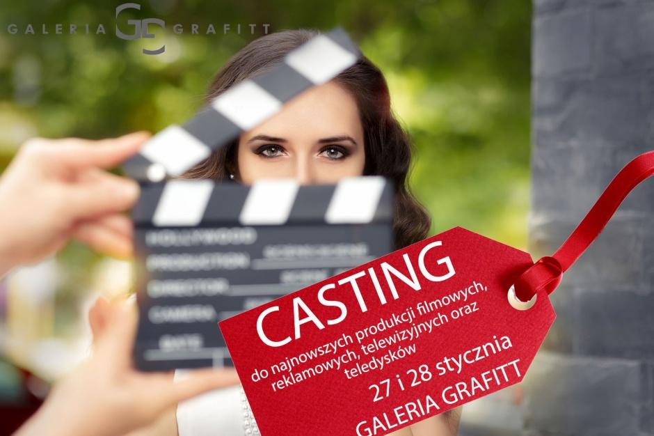 Filmowy casting w Galerii Grafitt