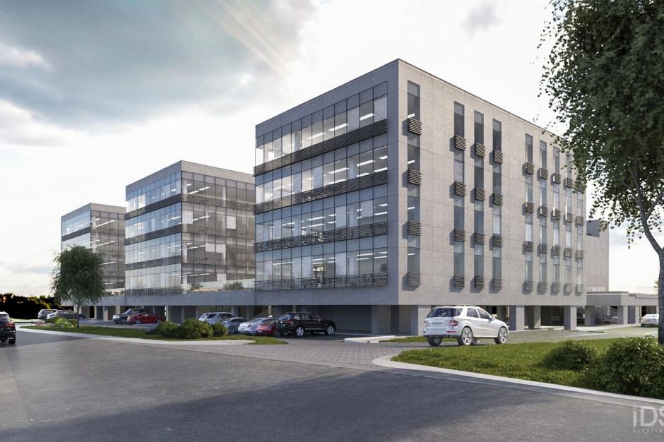 Nowy biurowiec w Szczecinie - już w budowie