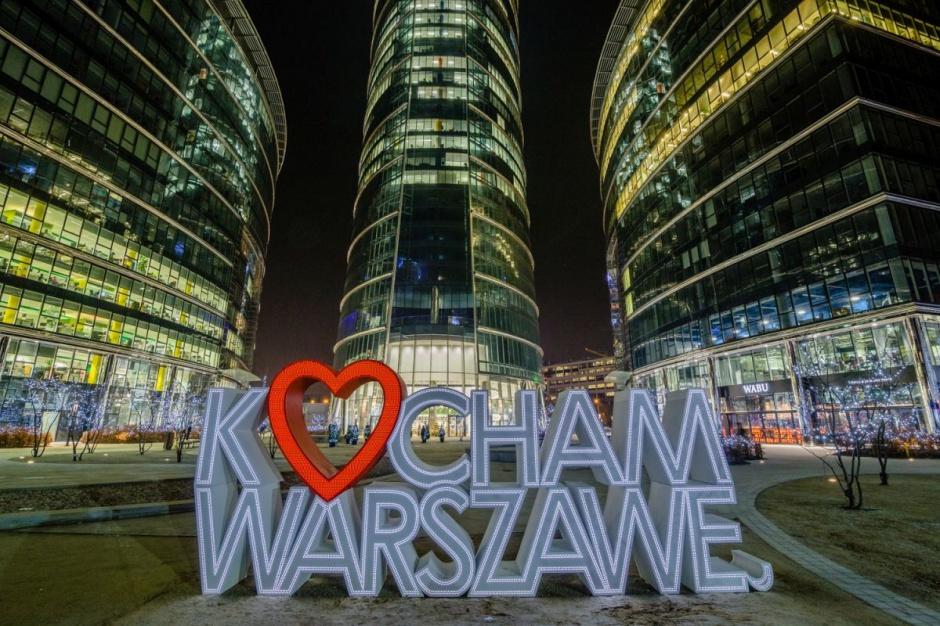 Miłosne wyznania na... Warsaw Spire