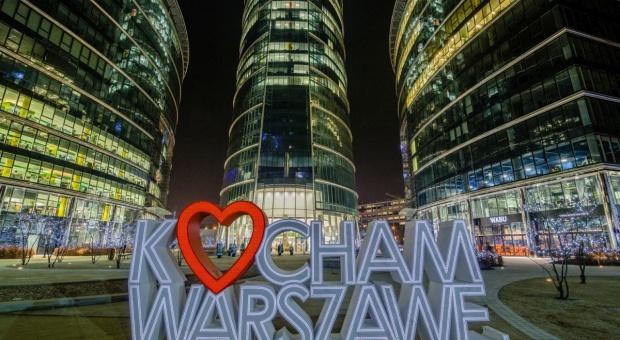 Warsaw Spire przemówi językiem miłości