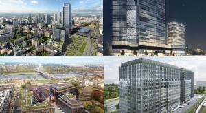 Biurowa fala w Warszawie. Zobacz największe projekty