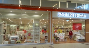 English Home polubił cantra handlowe Auchan