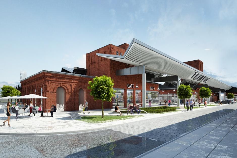 Rewitalizacja centrum handlowego częścią ambitnego planu miasta