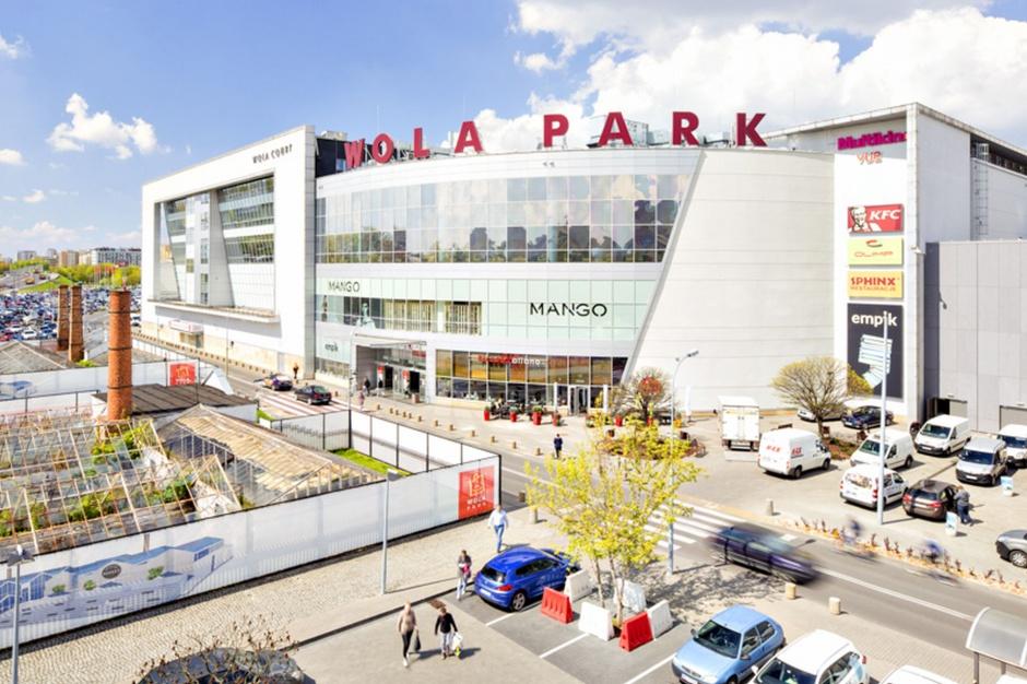 Zapełnia się nowa część Wola Parku