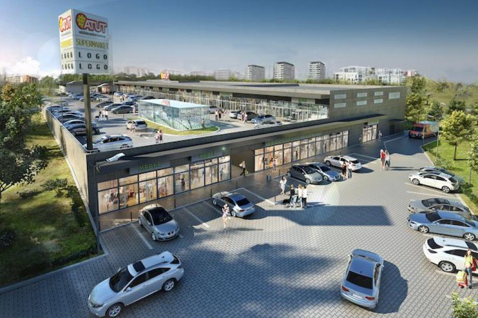 Lokalizacja mocną stroną nowego obiektu handlowego w Krakowie