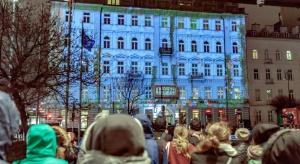 Spektakularny show na fasadzie Pasażu Lipińskiego