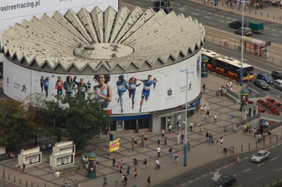 Warszawska Rotunda znika